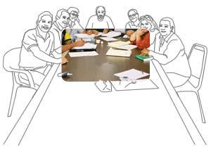 dibujo-foto comite