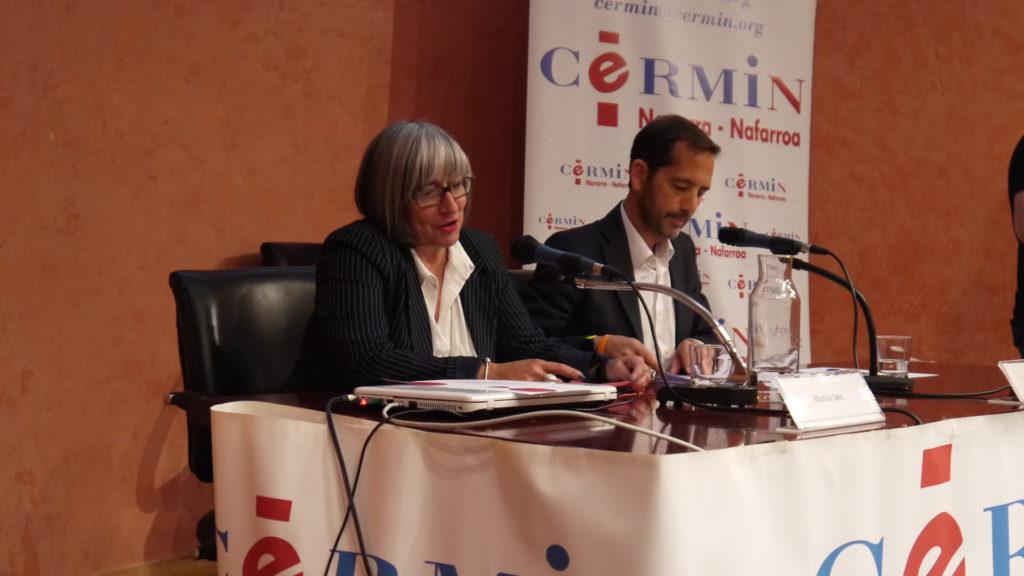 Mariluz Sanz, Presidenta de CERMIN y Manuel Arellano, Vicepresidente de CERMIN