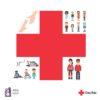 Imagen del pictograma de la Cruz Roja y ANA.